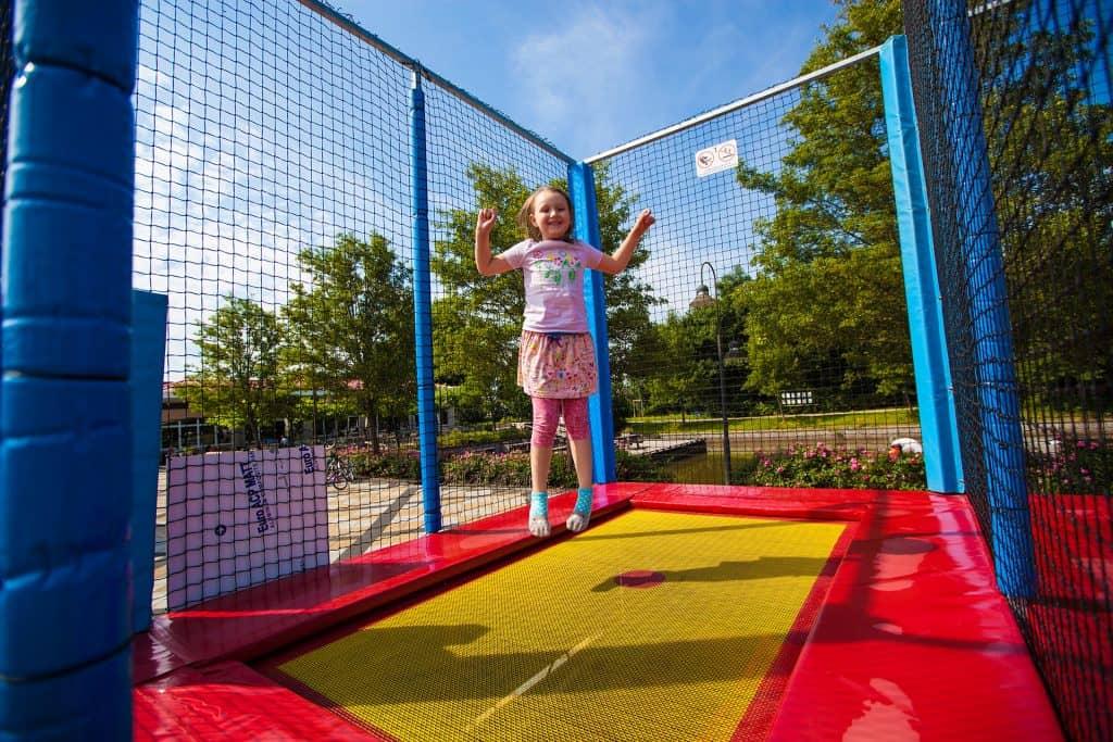 Header trampolines